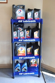 Total and Elf  High Performance Lubricants  are recommended by EuroHaus MotorSports
