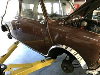 Classic Mini Cooper Repair