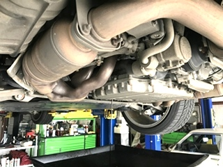 Porsche Oil Service and Inspection