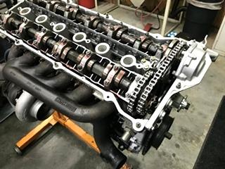 BMW E36 Turbo Engine Build