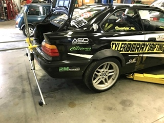 E36 BMW Drift Car Setup