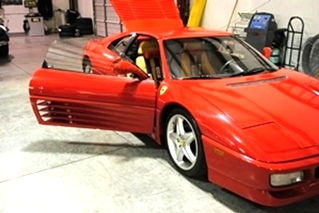 Ferrari Service and Repairs | Ferrari 348TS