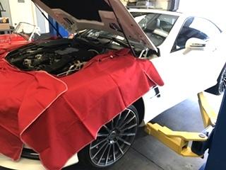 Mercedes Benz Oil Service and Repair