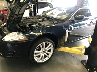 Jaguar XKR Service and Repair | Jaguar Water Pump Replacement XKR