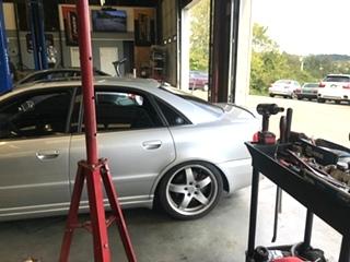 Audi Suspension and Shock Upgrades