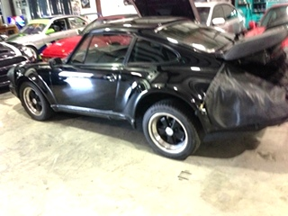 Porsche 911 Turbo Repair