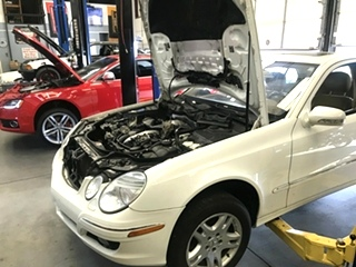 Mercedes Benz Oil Cooler Repair
